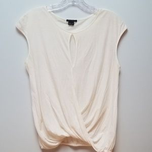 THEORY | OFF WHITE CUTE TOP, SIZE S/P
